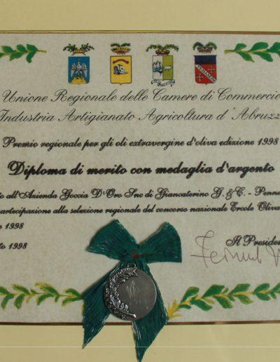 medagliaargento1998