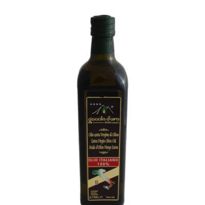 Goccia d'Oro Olio Extra Vergine di Oliva Bottiglia 0,75 lt