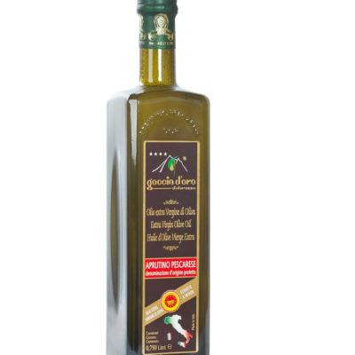 Goccia d'Oro d'Abruzzo DOP Aprutino Pescarese Bottiglia 0,75 Lt